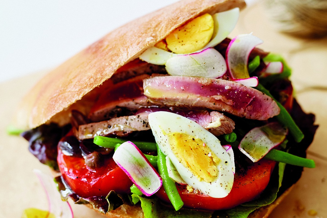 Broodje uit de Provence: pan bagnat niçoise