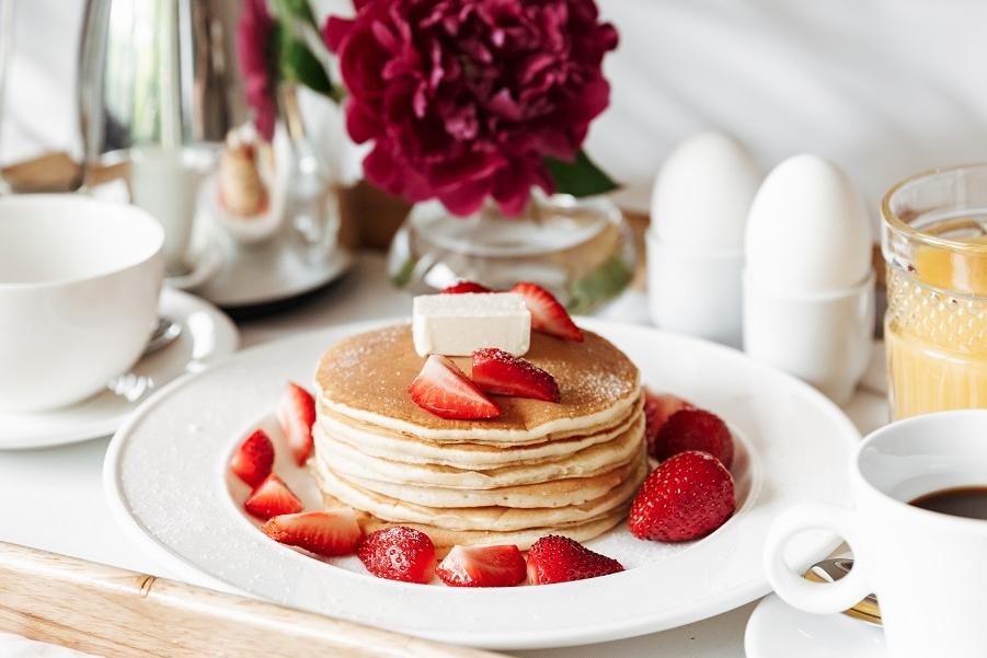 'Fluffy' pancakes voor een hemels ontbijt