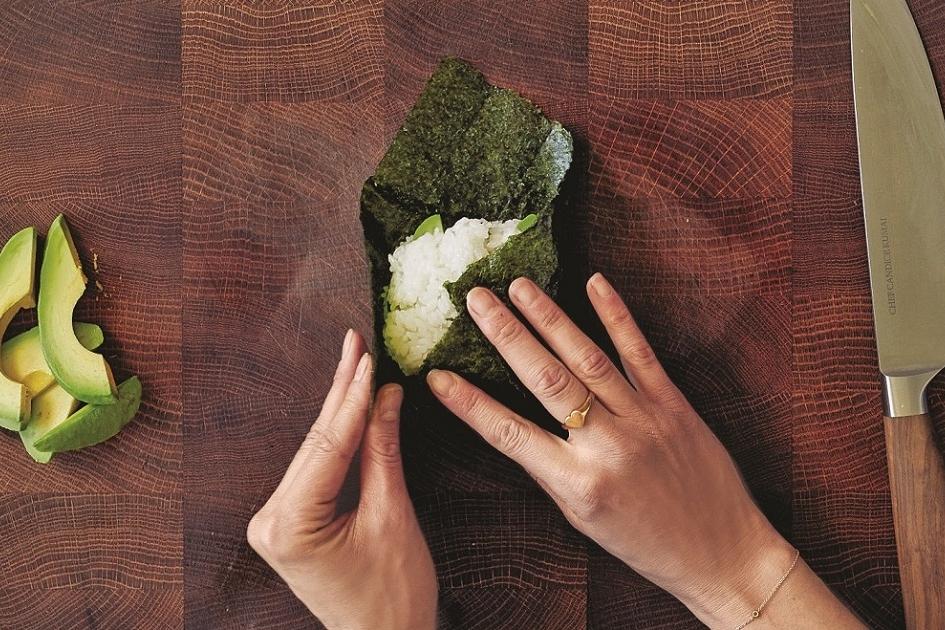 Gezond in je lunchbox: het sushibroodje.