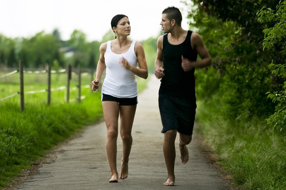 Blootsvoets hardlopen: een goed idee!