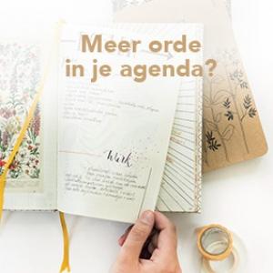 Meer orde in je agenda?
