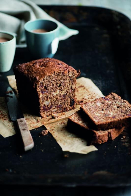 De vitale keuken walnoot-bananencake recept