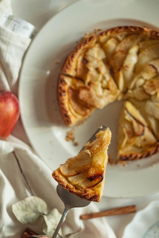 kruidige appeltaart