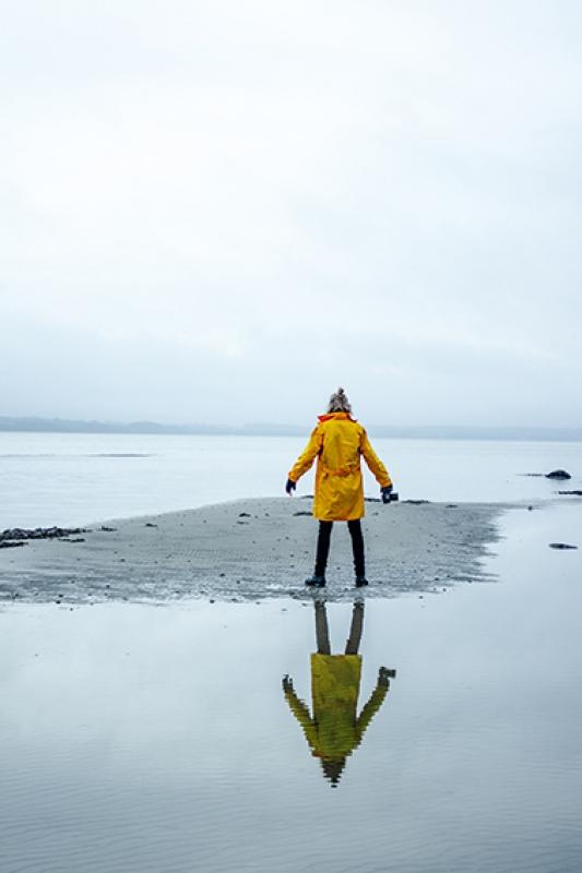 winter aan zee
